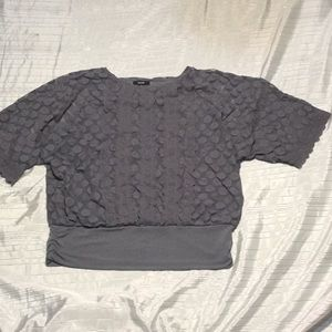 Al fanny sheer lined blouse new without tag!